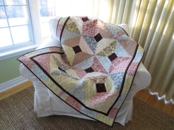 Diamond in the Rough using Lily and WIll fabric