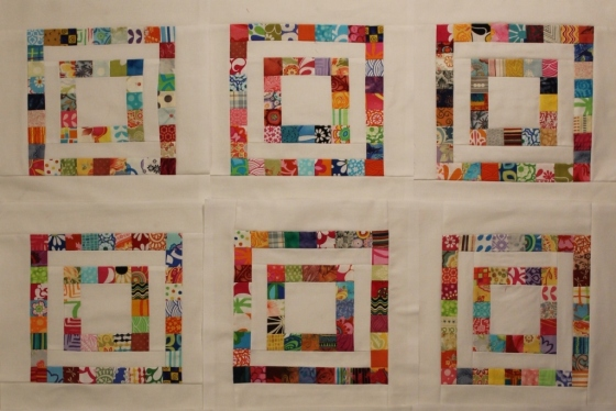 The quilt as designed.