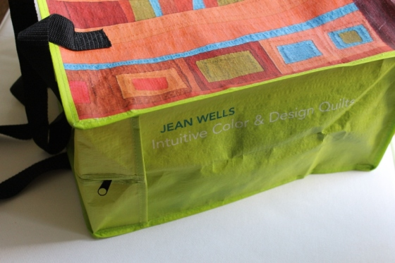 Tote Bag with Jean Wells' quilt design