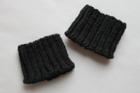 Boot cuffs, 3 inches high