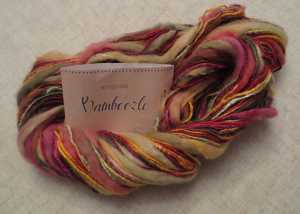 Bamboozle yarn by King Cole. Colour - Inferno.