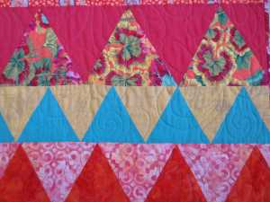 Detail of quilt - compressed